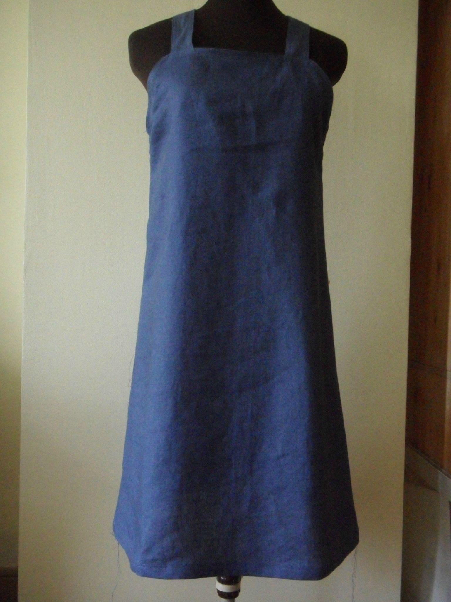 Robe tablier  Photo de Couture femme  PhilaCoud