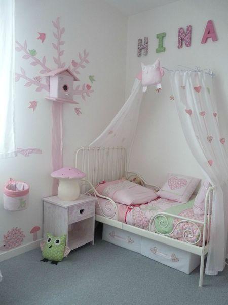 dco chambre fille ciel de lit