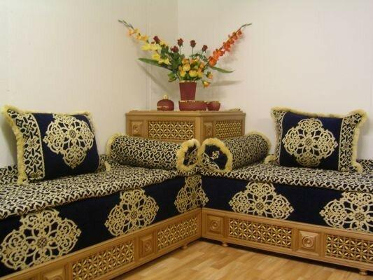 Salon marocain  le blog de fatima