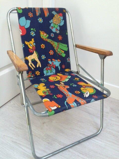 fauteuil de camping pour enfant so vintage
