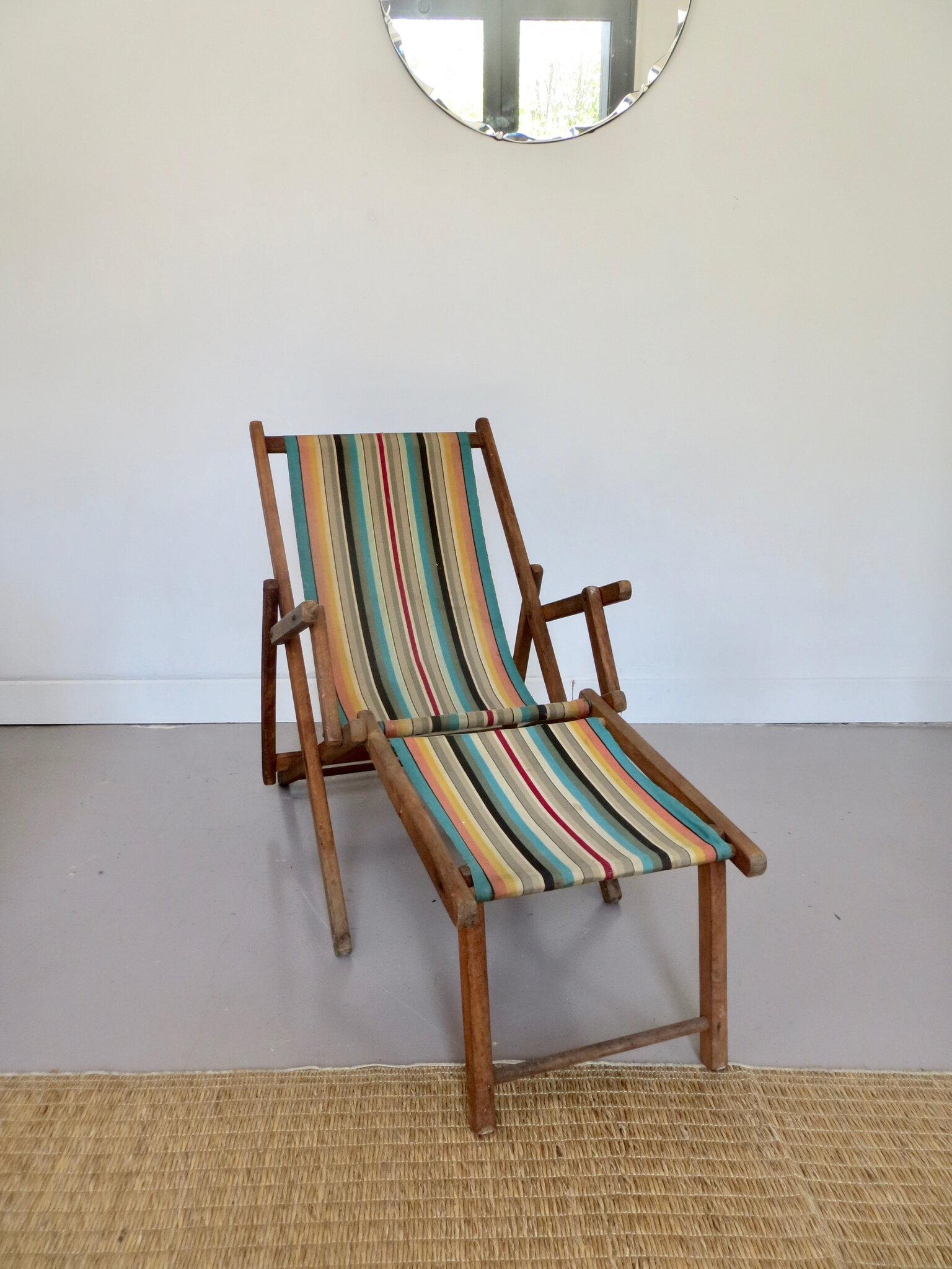 chaise longue enfant vintage meubles