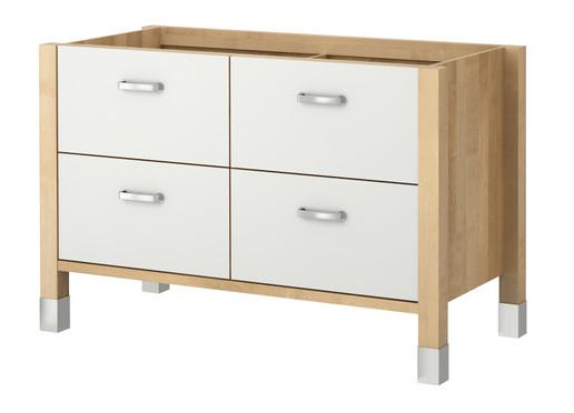 Meuble De Cuisine Bas Ikea Modele Värde  L133 P60 H87