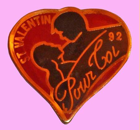 Pin's Saint Valentin 1