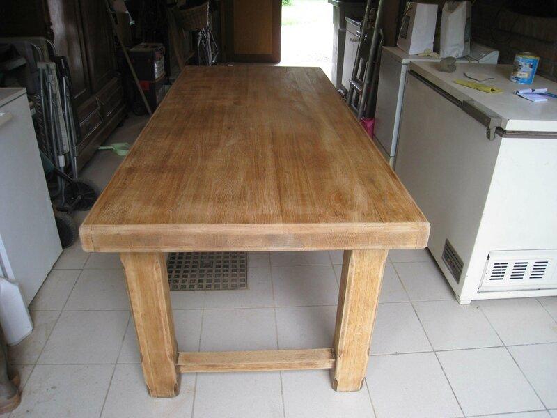 Eclaircir une table en chne  Patines  Couleurs