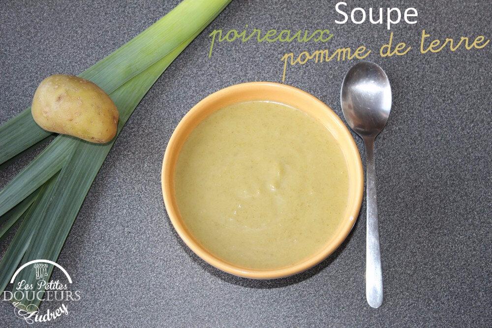 soupe poireaux pomme de terre cookeo