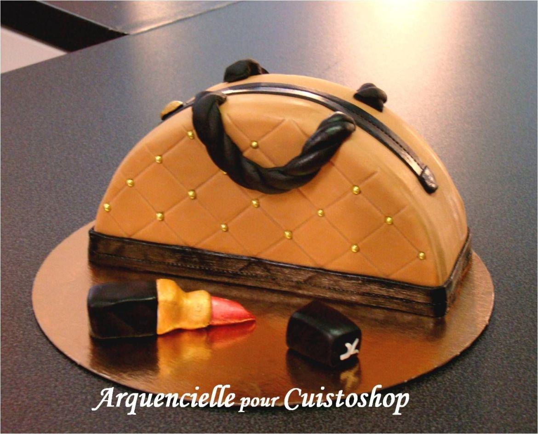 cuisine recette anniversaire gâteau sac à main luxe