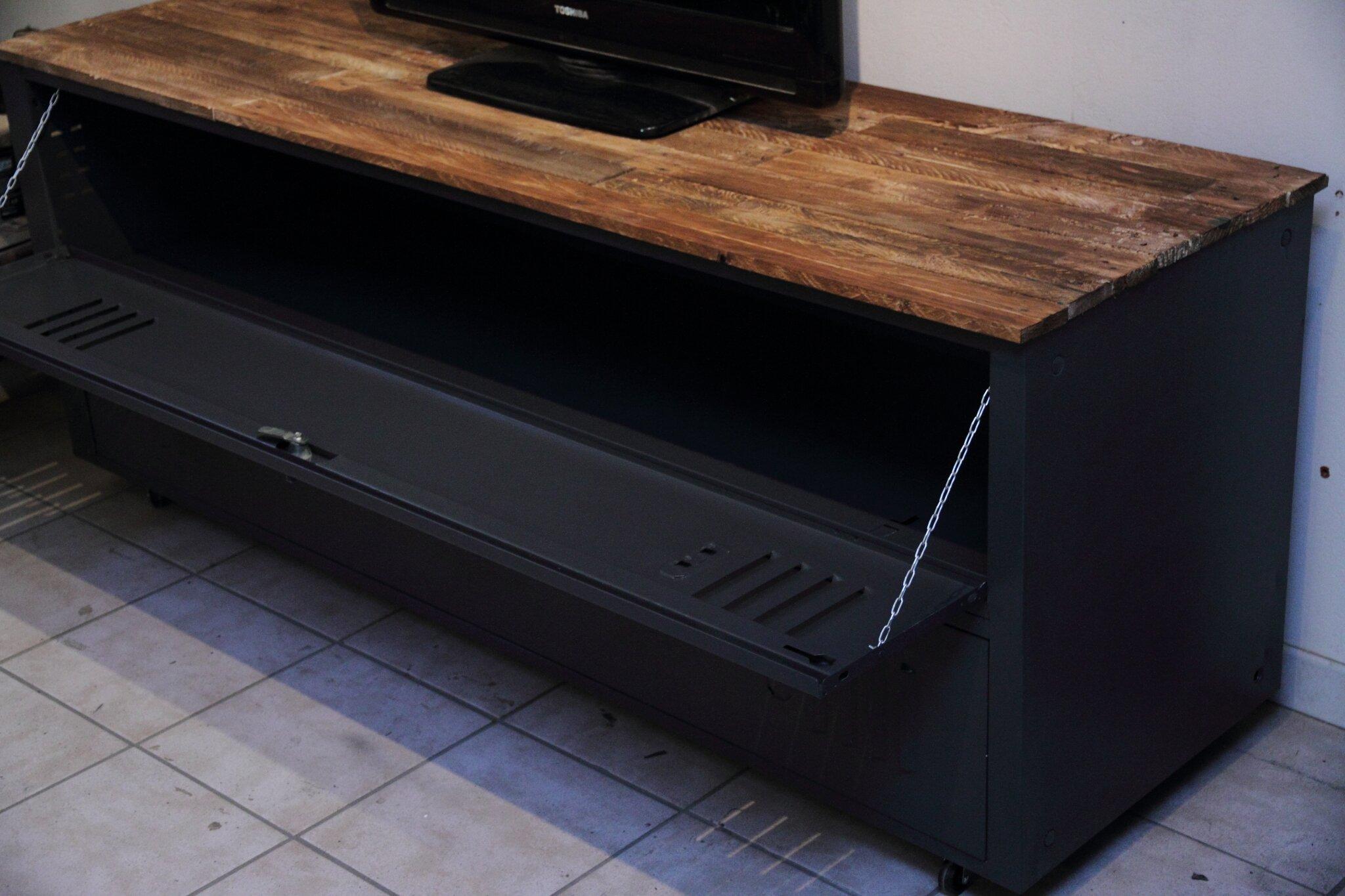 meuble tv industriel n21 volp art et mimi