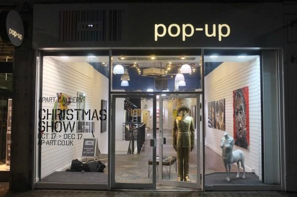 Pop Up Art Galleries