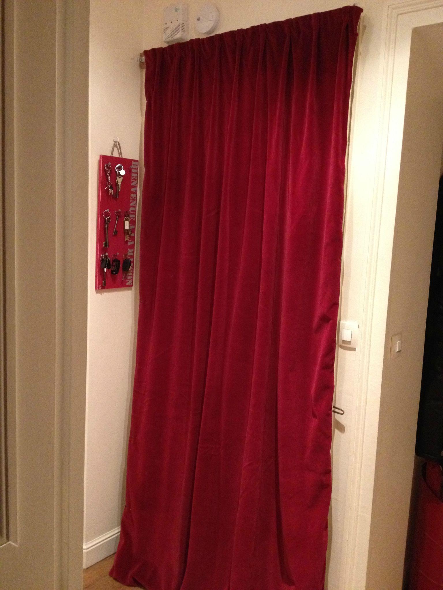 le rideau de porte de clementine l
