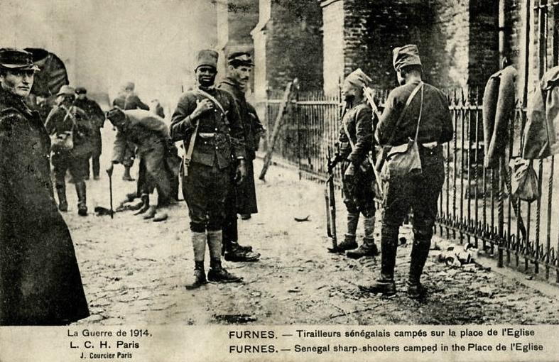 tirailleurs (19) Furnès Belgique