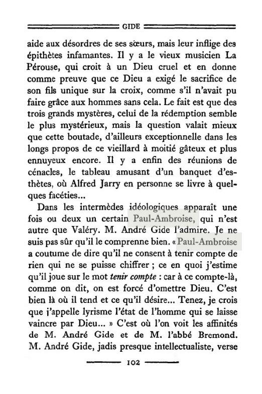 André Gide Le Temps Qui Passe : andré, temps, passe, André, Gide,, Faux-Monnayeurs, (1925), Critiques,, Commentaires, Profs, D'Histoire, Lycée, Claude, Lebois