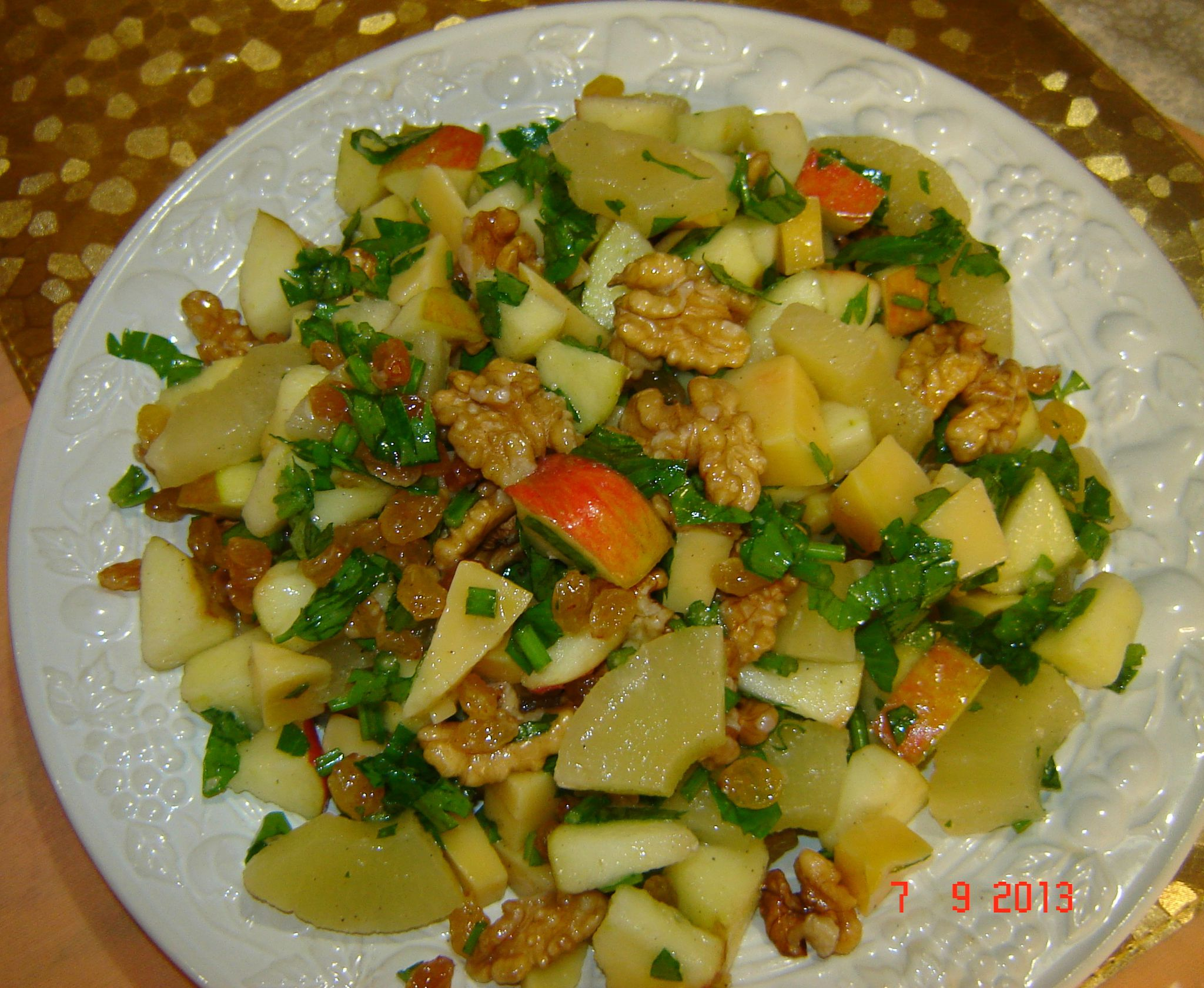 Salade Hawaenne  RECETTES DE CUISINE ILLUSTREES