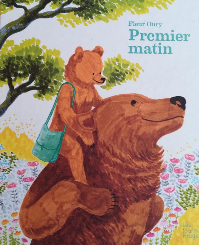 Petit Ours Brun Fait De La Peinture : petit, peinture, Premier, Matin, Idées, Lecture, Enfants,, Petits, Grands