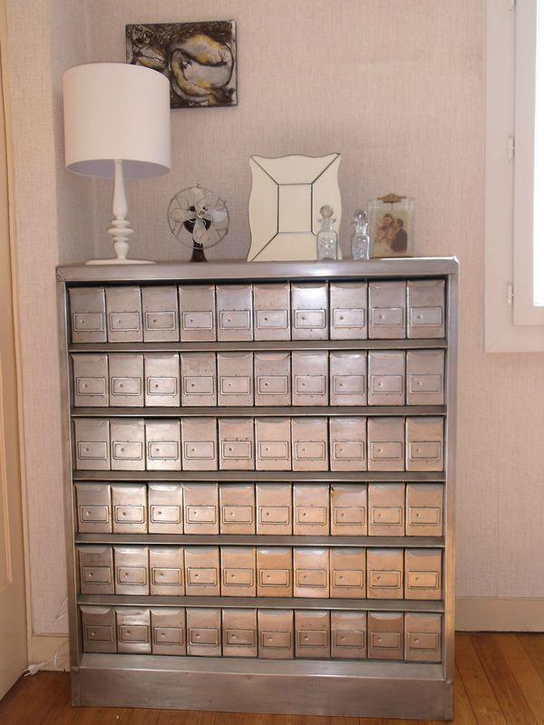 Un Meuble De Mtier Rare Le Fichier Mtallique DIY