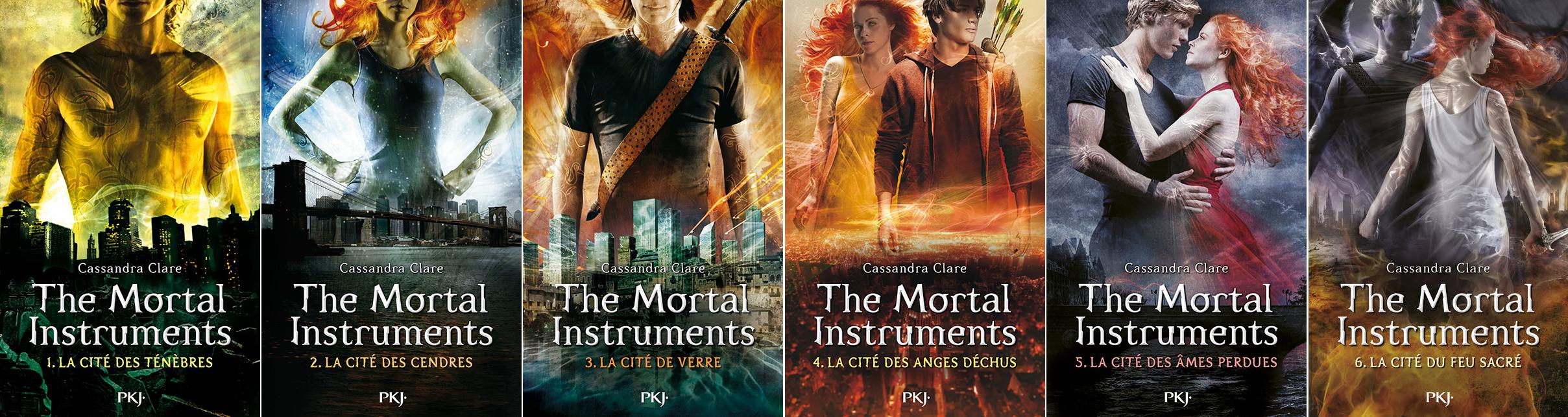 """Résultat de recherche d'images pour """"saga the mortal instrument livres"""""""