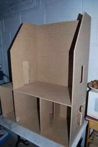 Fabrication Dune Maison De Poupe Pour Melle L Le Blog