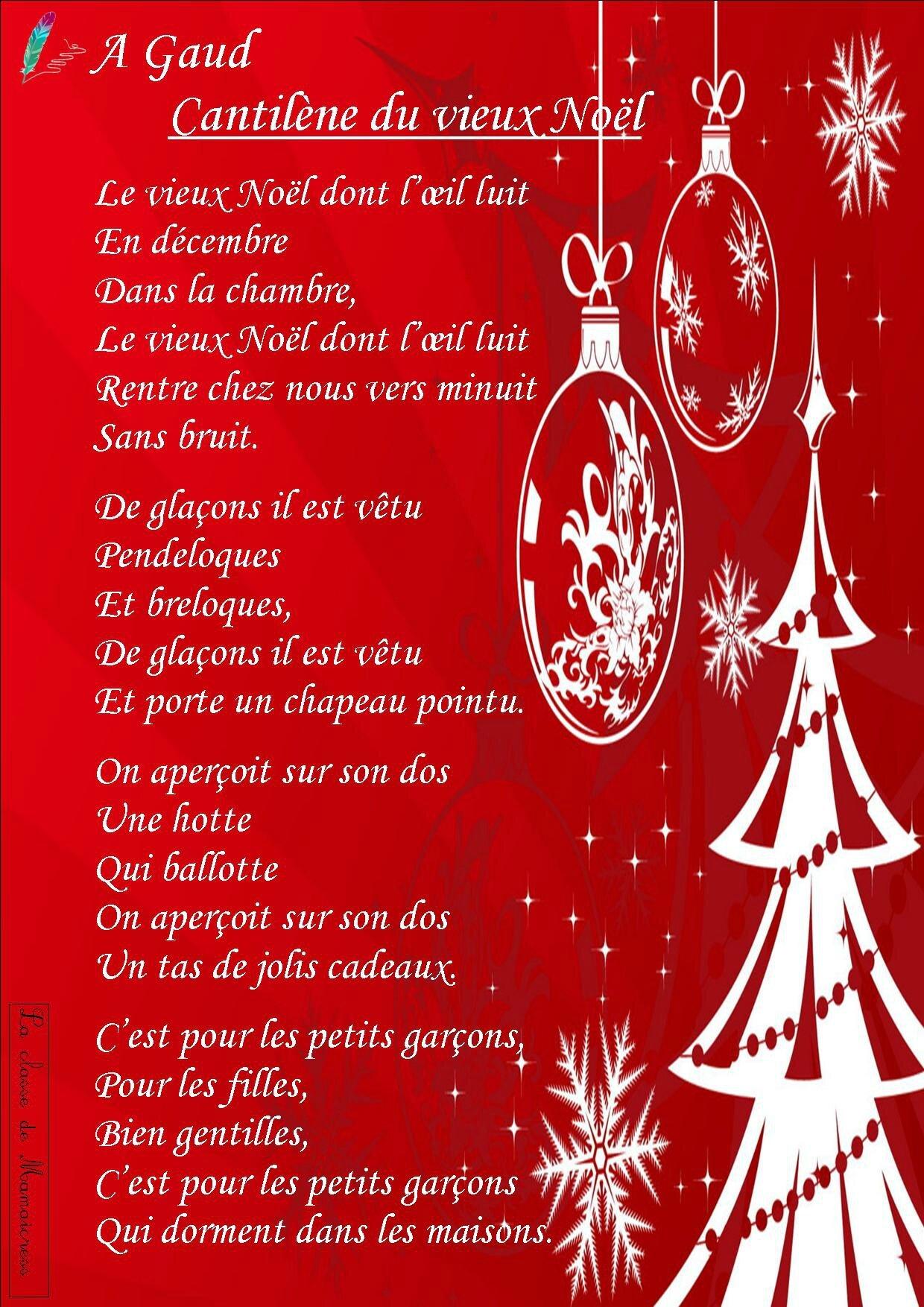 Cantilène Du Vieux Noel Poésie : cantilène, vieux, poésie, Poésies, L'hiver,, Noël, Classe, Mamaicress