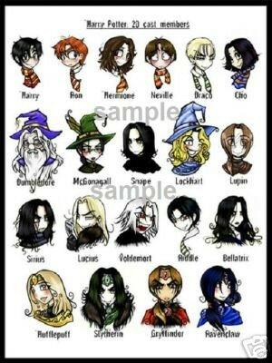 Les Personnages D Harry Potter : personnages, harry, potter, Personnages, Harry, Potter, Nouveaux, Dessins