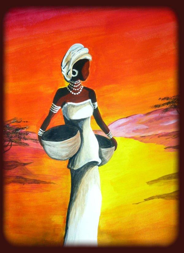 Femme Noire - Regard