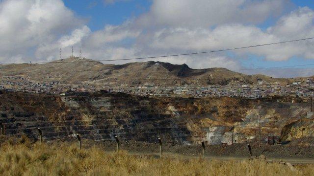 g-Cerro de Pasco, la ville et la mine