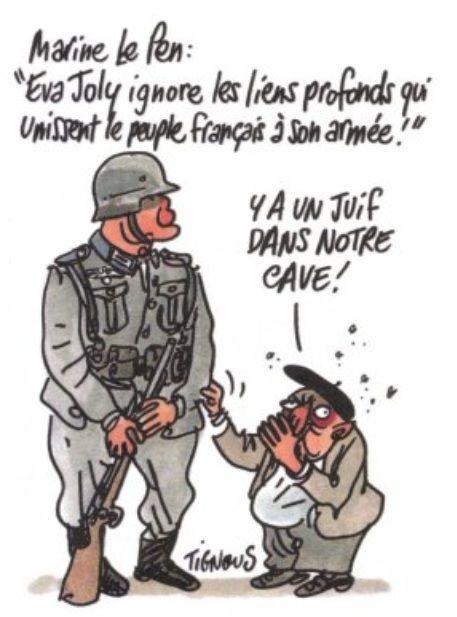 Marine Le Pen Eva Joly  Charlie Hebdo N996  20