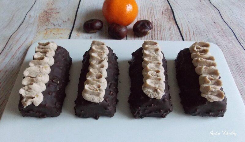 buchettes à la crème de marron et clémentine2