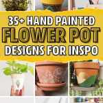 35 Super Creative Painted Flower Pots For 2021 Crazy Laura