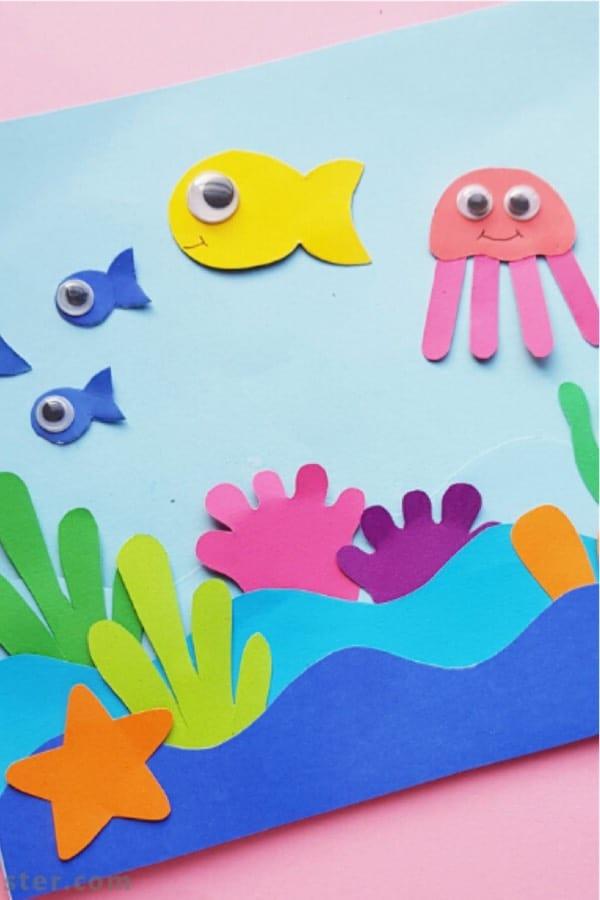 Crafts help kids show their creative side. 20 Best Ocean Crafts Tutorial Ideas For Kids Crazy Laura