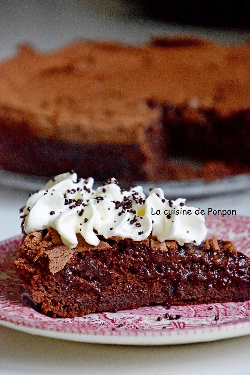 Gateau Avec 8 Oeufs : gateau, oeufs, Gâteau, Fondant, Mortel, Chocolat, Oeufs..., Cuisine, Ponpon:, Rapide, Facile!
