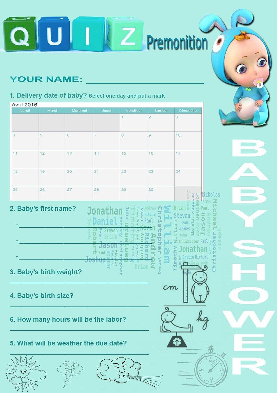 Quiz Baby Shower Francais : shower, francais, Grande, Première:, Babyshower!, P'TITE, FAMILLE, BOSTON