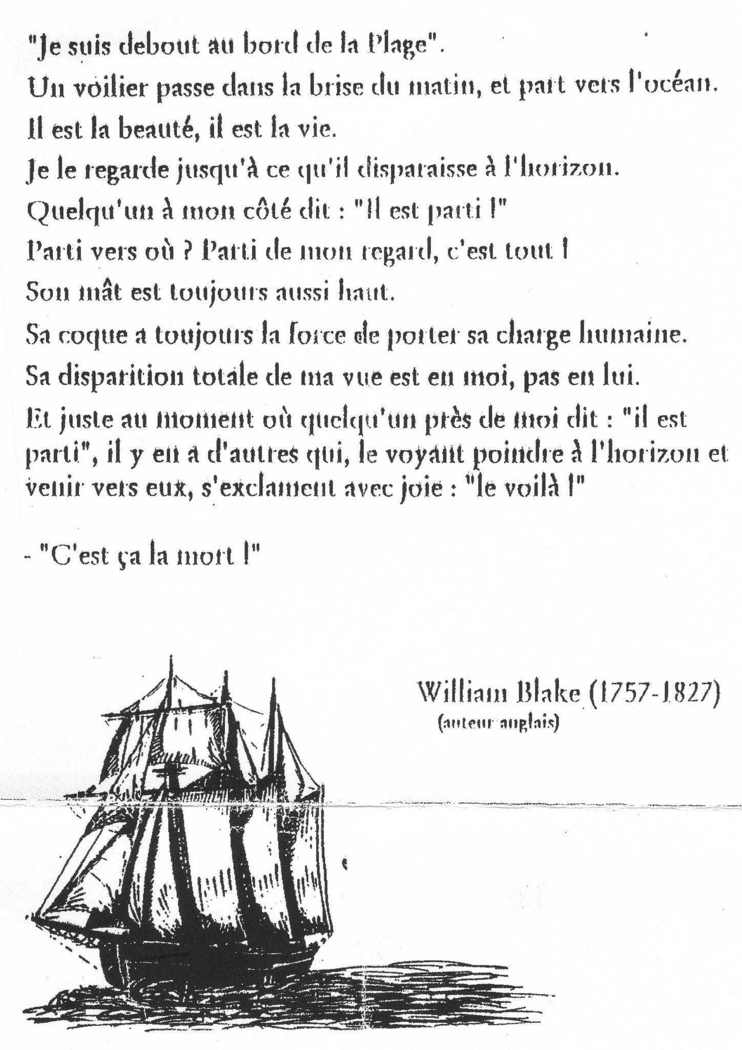 Poeme Pour Le Deces D Une Grand Mere : poeme, deces, grand, Texte, Fille, Marie, L'église, Décès, Grand-mère..., Jocelyne, Semetin,, Maman...