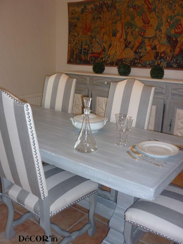 Table De Salle Manger Relooke Avant Aprs DeCORin