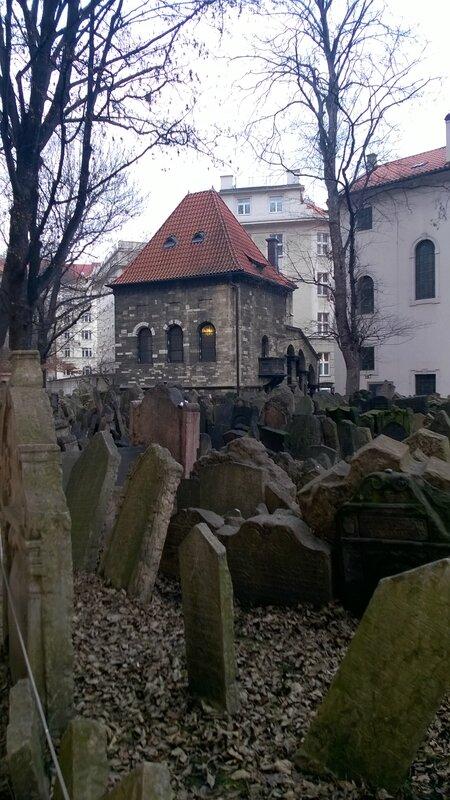 Le Cimetière juif, Prague