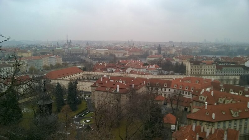 Vue sur Prague, depuis le Château