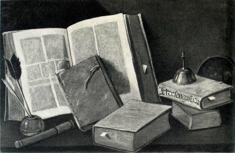 Des livres , 50,5 x 80,5cm - collection R
