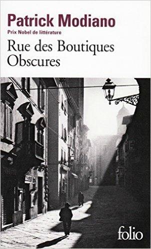 Rue des boutiques obscures, Patrick Modiano