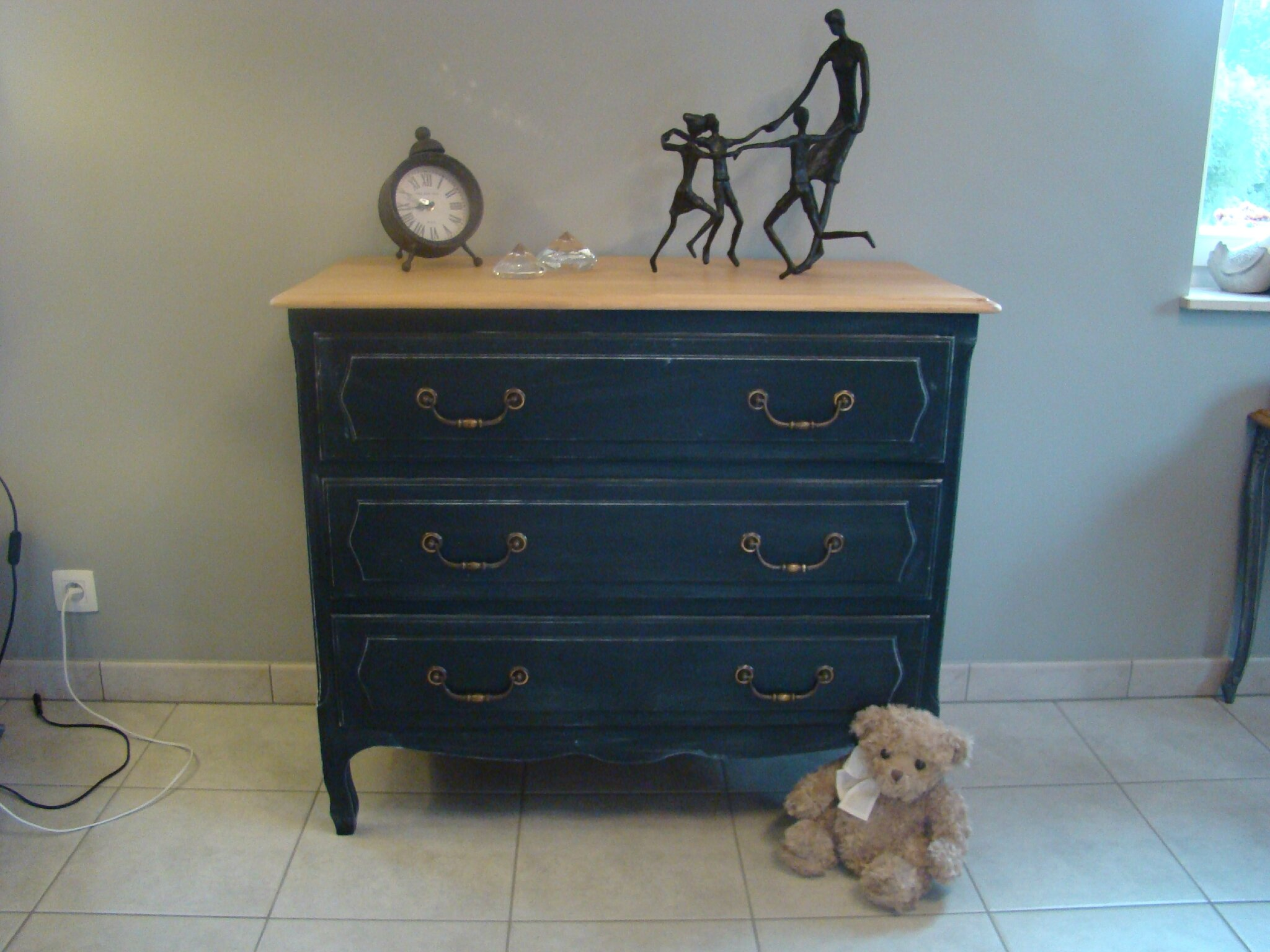 Commode Patine Noir Relooking Meubles Amp Intrieur