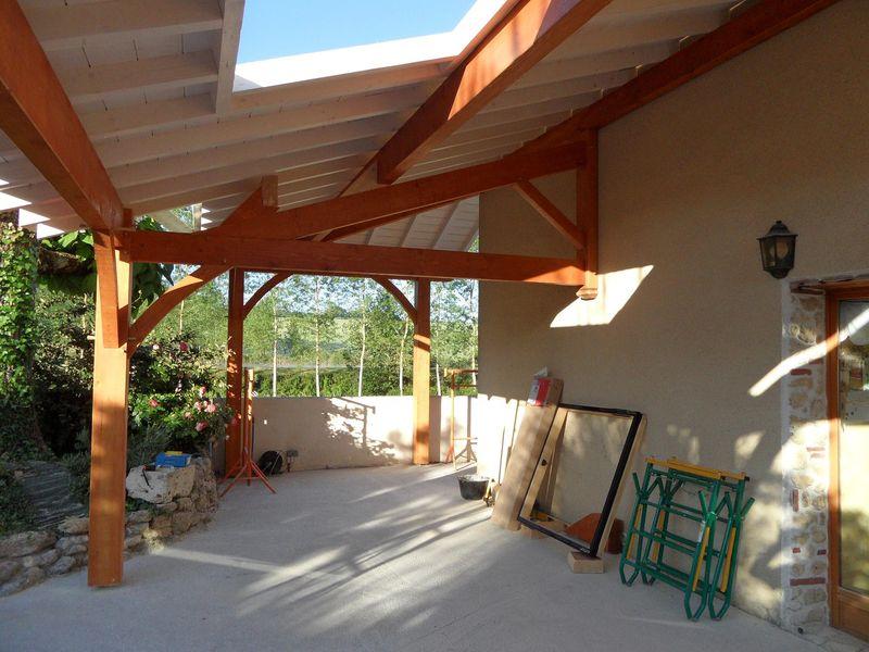 Le teaser de la terrasse couverte  GUIT