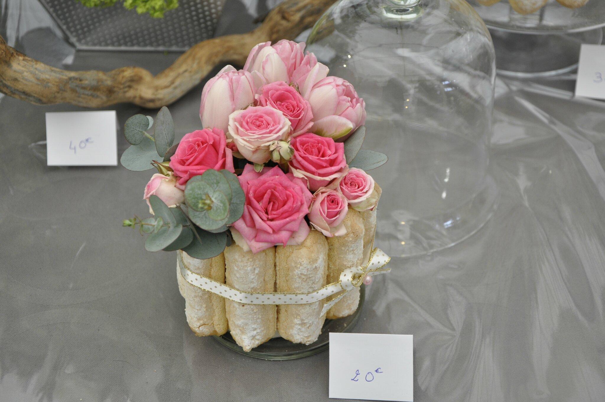 charlotte centre de table  Photo de 1 MARIAGE  LARUM DES SENS
