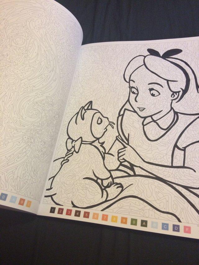 """Jai testé le livre de coloriages mystères """"les grands"""