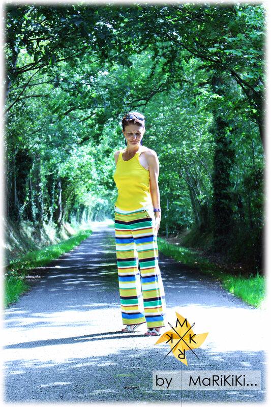 Pantalon à pont 01