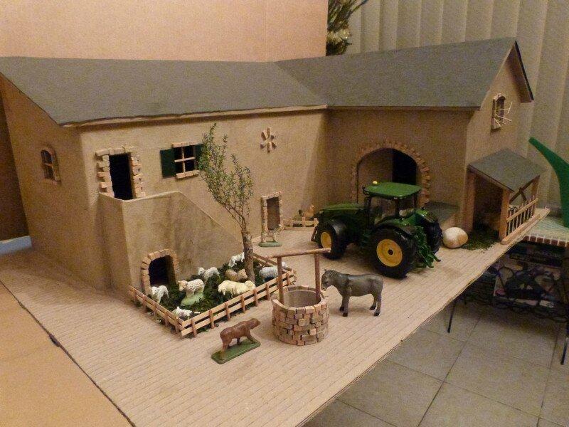 fabriquer cuisine en bois jouet