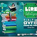 A vos agendas #avril 2013 : ma sélection de manifestations littéraires en france