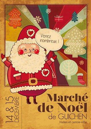 marché de Noël Guichen décembre 2013
