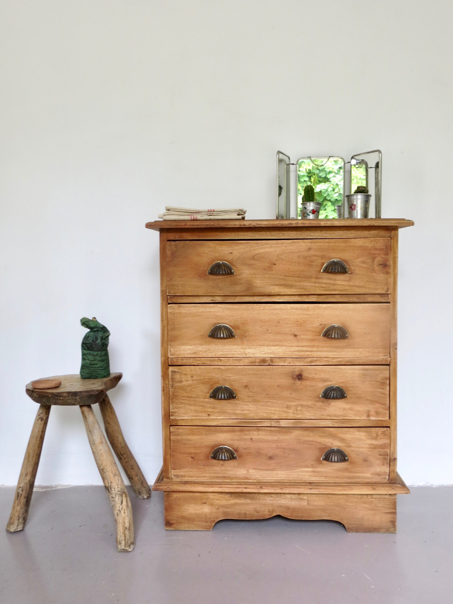 commode ancienne bois massif meubles
