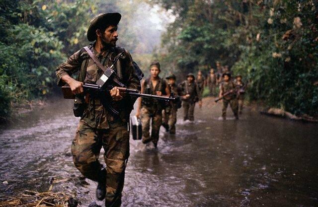 1987_Contra_Rebels_on_Patrol_In_Nicaragua