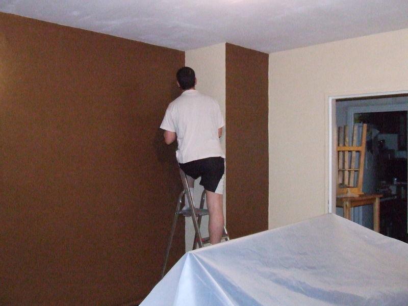 Dbut des travaux de rhabilitation  Phase 2  La SM peinture  Construction de notre maison