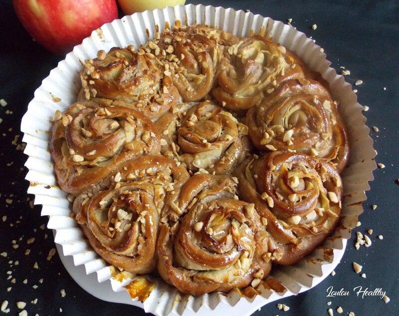 chinois rose aux pommes et beurre de cacahuète4