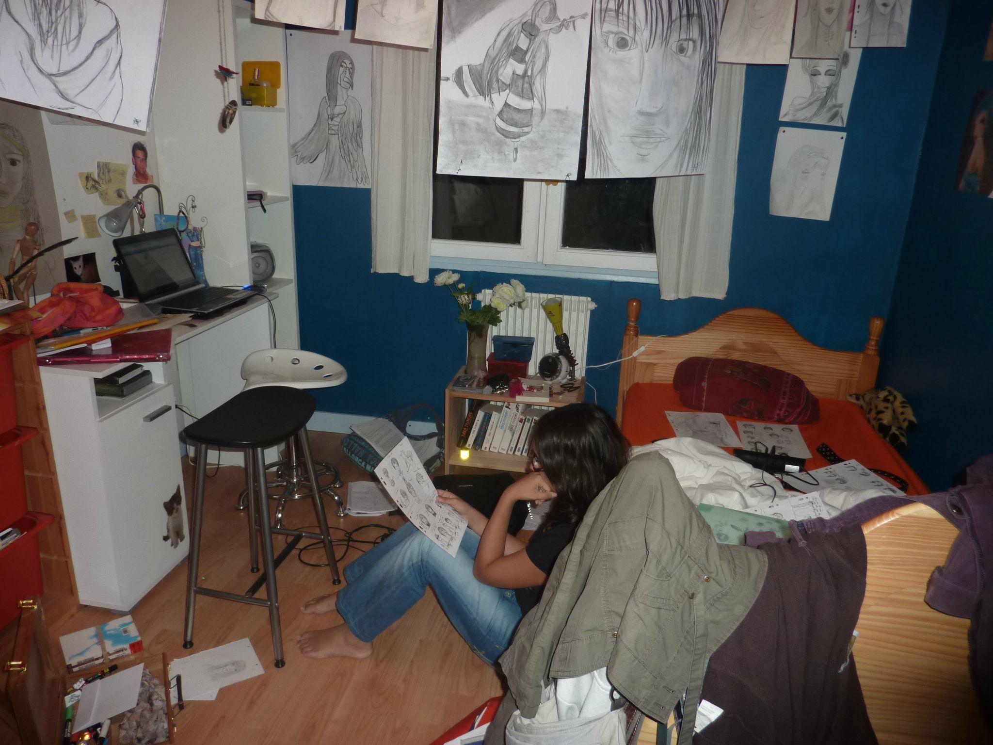 LA chambre en bordel  Album photos  le bazART