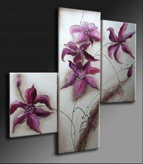 tableaux modernes fleurs des tableaux